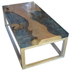 Epoxy World Two Piece Cedar End Table