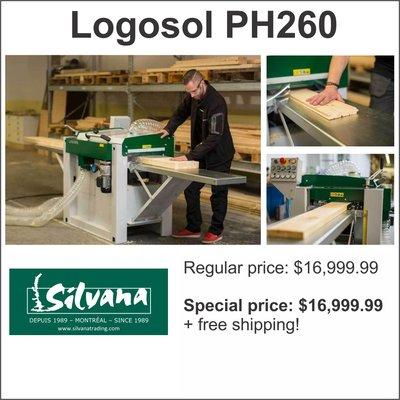 Logosol PH260 4-sided planer/moulder