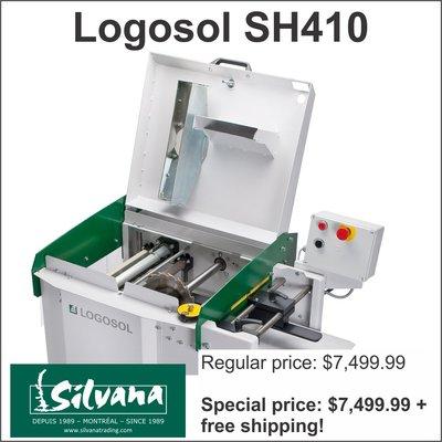 Logosol SH410 1-sided planer/moulder/resaw