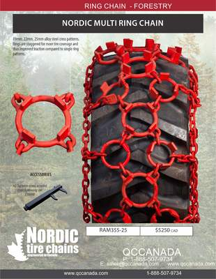 NORDIC MULTI RING CHAIN