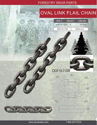 OVAL LINK FLAIL CHAIN